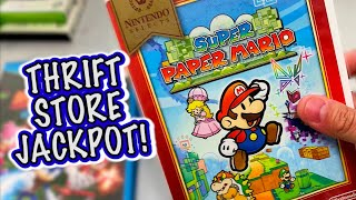 Thrift Store TREASURE TROVE! (Live Video Game Hunting)
