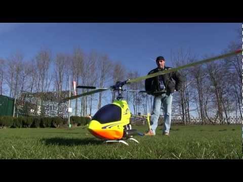 DJI Wookong-H Autopilot on a Hirobo Freya (Nitro Heli)