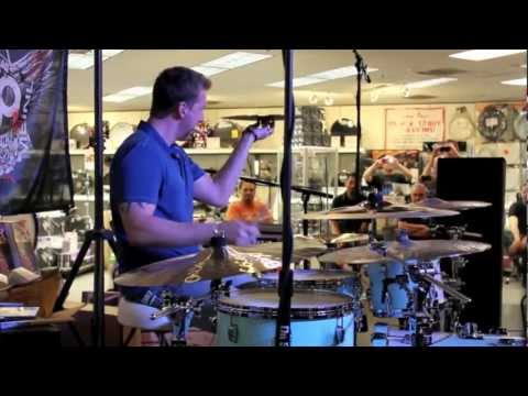 Mike Johnston Drum Clinic at Sam Ash Music