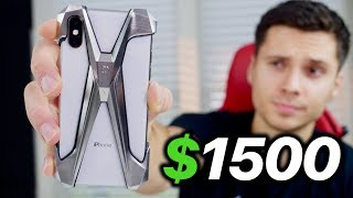 $1500 iPhone XS Case.. Drop Test u0026 XS Max Giveaway!