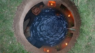 Build Most Secret Underground House And Swimming Pool thumbnail