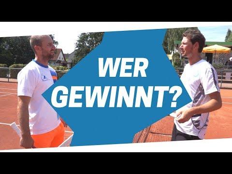 TENNIS-MATCH: Sven Bendlin vs. Frank Prechtl