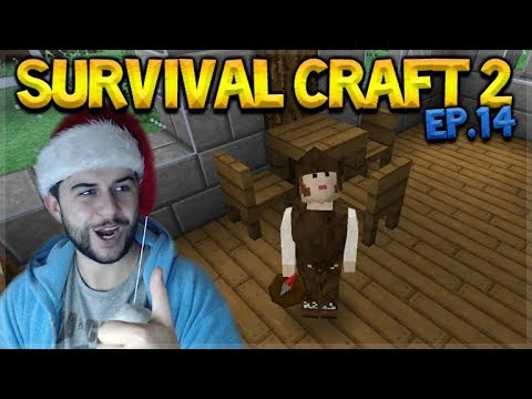 Survival Craft 2 - WE FINALLY BUILT SOME FURNITURE! & UNLUCKY PETS! (14)