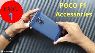 [Part 1] Best Pocophone POCO F1 Accessories (Back Case,Cover,Skin,Screen Protector,Tempered Glass)