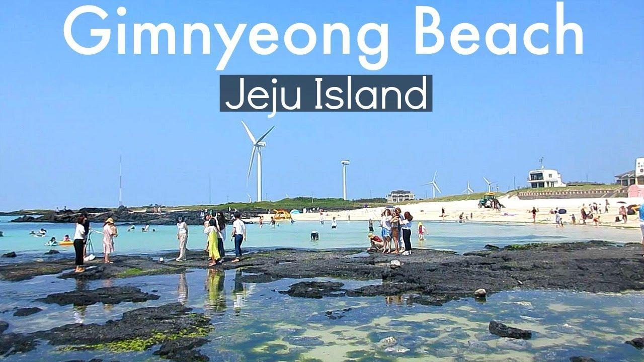 Jeju Island Korea Gimnyeong Beach 김녕해변