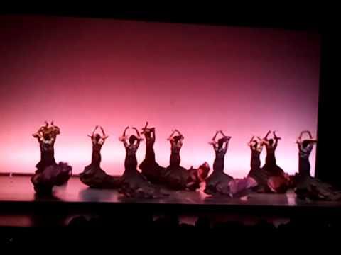 Grupo de baile Inés Romero  Semblanzas de un río 25 06 2011