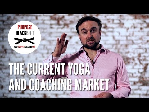 The current yoga and coaching market