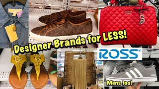 Ross Dress For Less SHOP WITH ME Designer Shoes & Handbags for Less