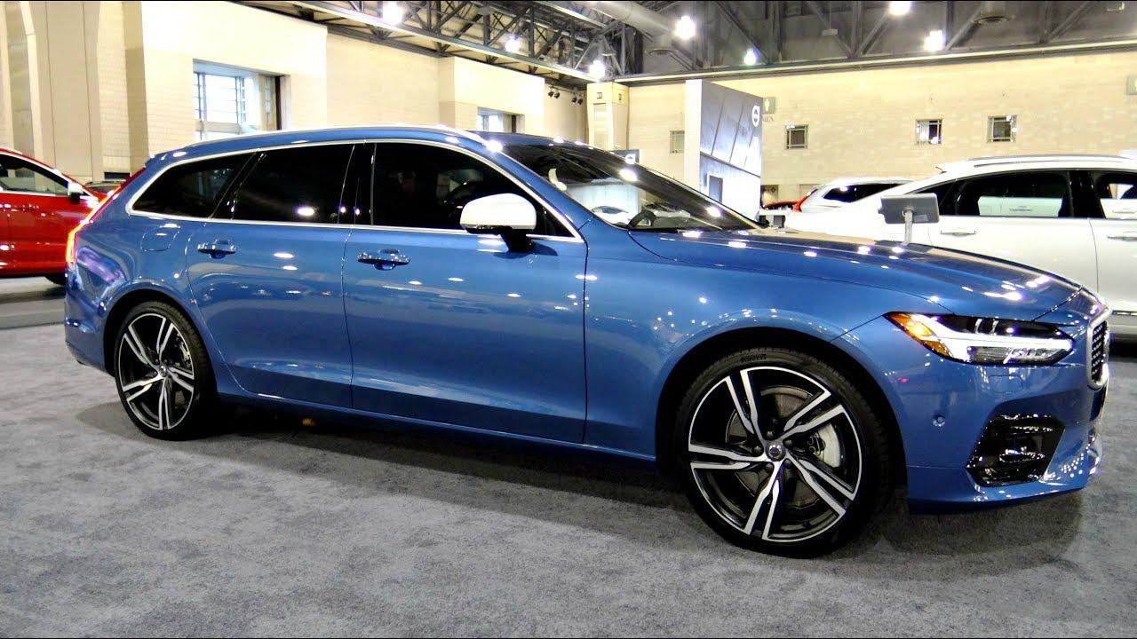 2018 Volvo V90 R Design T6 Awd Review Epic Wagon