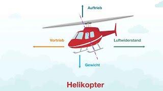 Helikopter Aerodynamik & Steuerung