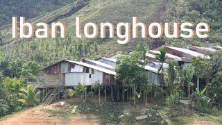Iban longhouse Borneo