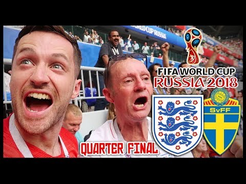 ENGLAND vs SWEDEN! QUARTER FINAL! - RUSSIA WORLD CUP 2018