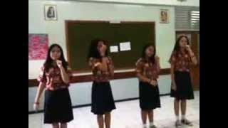 "VOCAL GROUP SMP TARAKANITA 5 ""Bimbi"" FLS2N 2013 Medan"