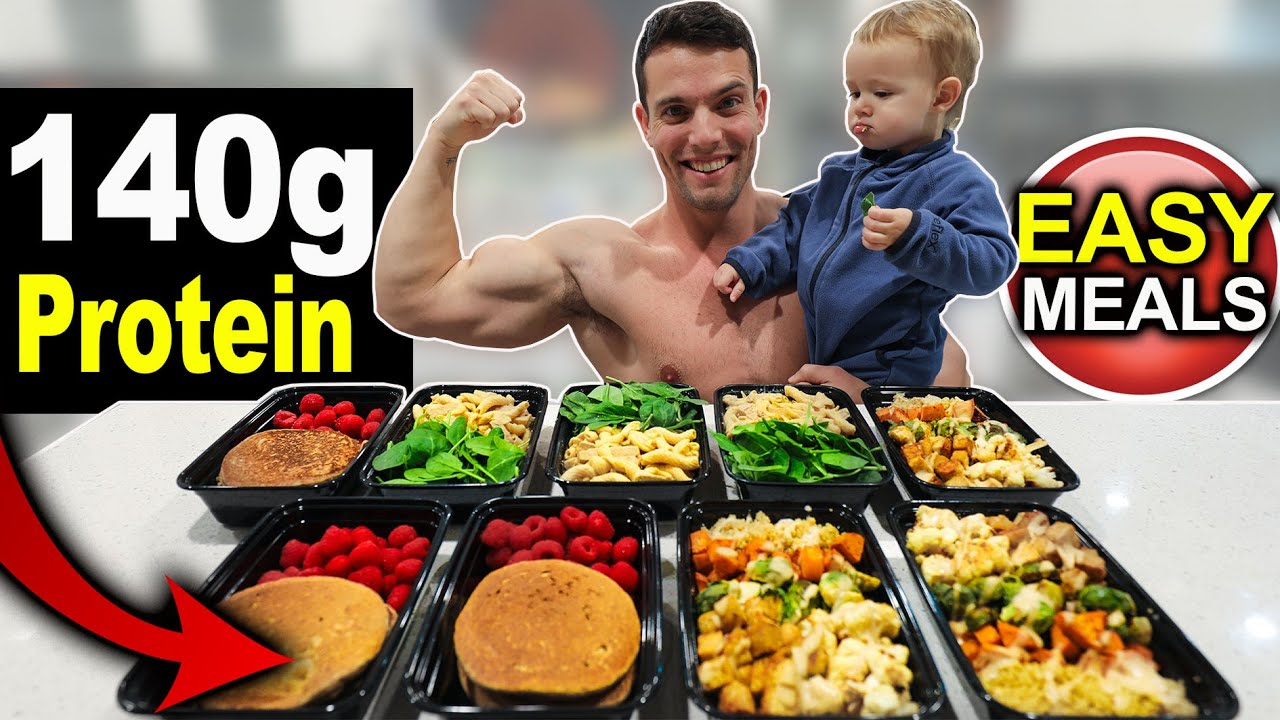 <div>EASY HIGH PROTEIN MEAL PREP 2020   LOSE WEIGHT & BUILD MUSCLE!</div>
