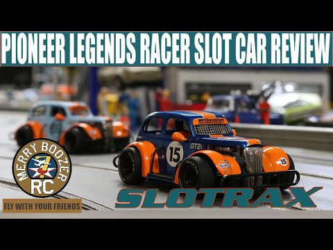 Pioneer Legends Racer Slot Car Review Small Cars Big Thrills in 1/32 Scale.
