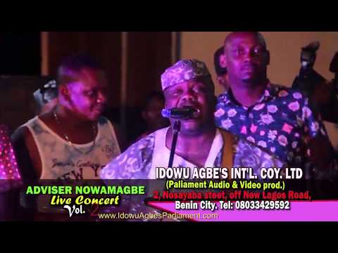 Adviser Nowamagbe Live In Concert Vol 2 [Ofiicial THRILLER] - Benin Music Live On Stage