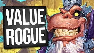 I Can FINALLY Get My Value Fix From Rogue! | Galakrond Rogue | Standard | Hearthstone