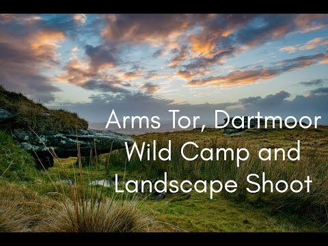 Arms Tor Wild Camp and Landscape Photography on Dartmoor