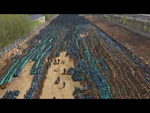 شاهد: -مقبرة دراجات هوائية مشتركة- في الصين  - نشر قبل 23 دقيقة