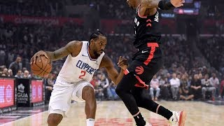 Kawhi Leonard vs The Raptors 1st Meeting! 2019-20 NBA Season