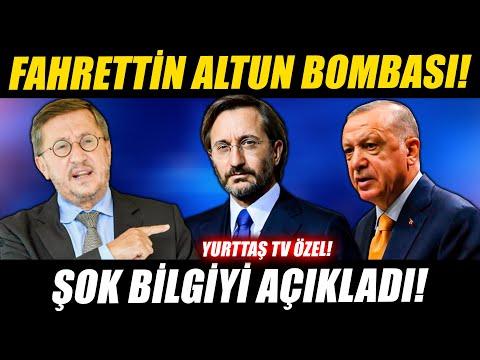 Lütfü Türkkan'dan Fahrettin Altun bombası! Şok bilgiyi açıkladı!