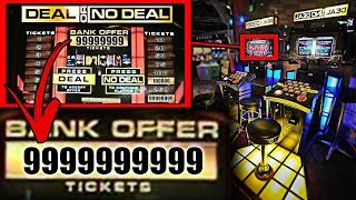 UNLIMITED TICKETS AT ARCADE HACKS TUTORIAL | DEAL OR NO DEAL UNLIMITED TICKET HACK | WIN EVERY TIME