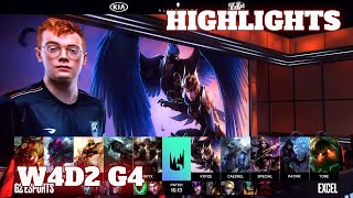 (Highlights) G2 Esports vs Excel | Week 4 Day 2 S10 LEC Summer 2020 | G2 vs XL W4D2