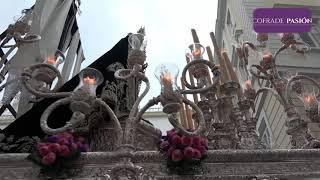 Santo Entierro y Virgen de la Soledad por Valverde, San Agustín y Nueva (Semana Santa Cádiz 2019)