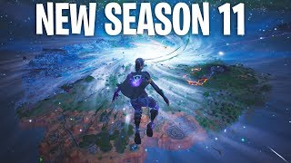 "Fortnite ''THE END"" EVENT! *NEW SEASON 11 MAP!* (Fortnite Chapter 2)"