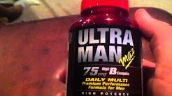 Ultra Man Max Multi-Vitamin Review