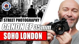 STREET PHOTOGRAPHY ON 35mm FILM -  LONDON