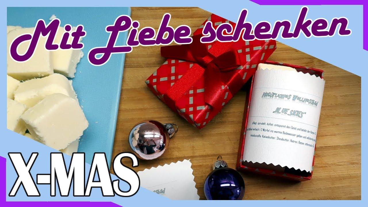 Geschenke Günstig Weihnachten.Selbstgemachte Geschenke Zu Weihnachten Günstig Und Stressfrei Schenken Diy Tipps Badepralinen