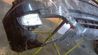 видео Восстановление бампера