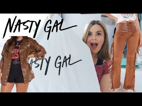 BUYING THE FIRST 5 THINGS I SAW ON NASTY GAL SIZE 14 *hilarious*