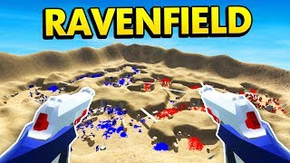 EPIC TRENCH WARFARE IN RAVENFIELD (Ravenfield Funny Gameplay)