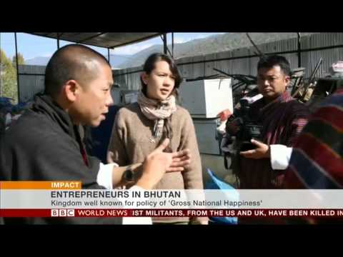 Interview with Karma Yonten of Greener Way, Bhutan by BBC World News 2013 09 12 14 30 01