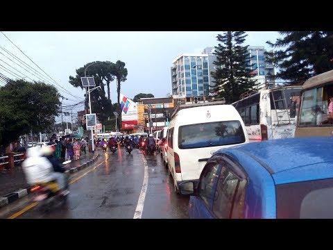 Kathmandu City Jawalakhel To Thapathali Driving