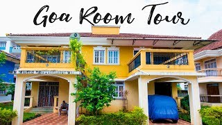 Gambar cover Huge Luxury AirBnB Villa Room Tour - South Goa | On Budget | Wandering Minds VLOGS