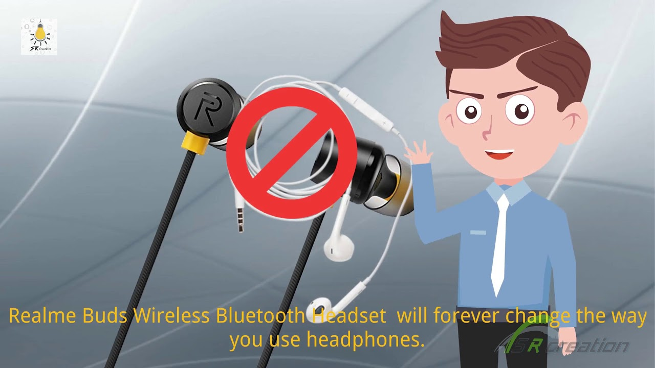 Realme Buds Wireless Bluetooth Headset With Mic Youtube