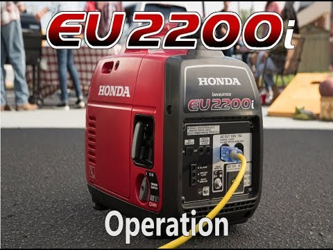 Honda EU2200i Generator Operation