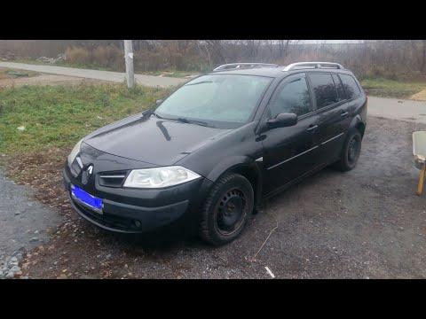 Renault Megane 2. Ремонт. Замена передних стоек