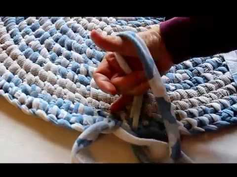 Using Jersey Knit To Make A Rag Rug