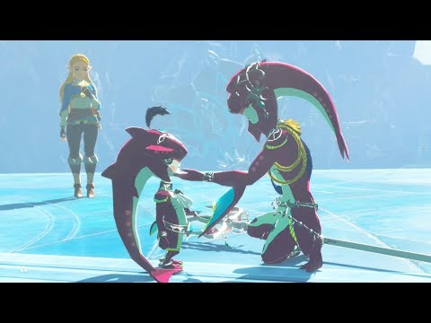WaterBlight Ganon REMATCH in The Illusory Realm - Zelda Breath of the Wild