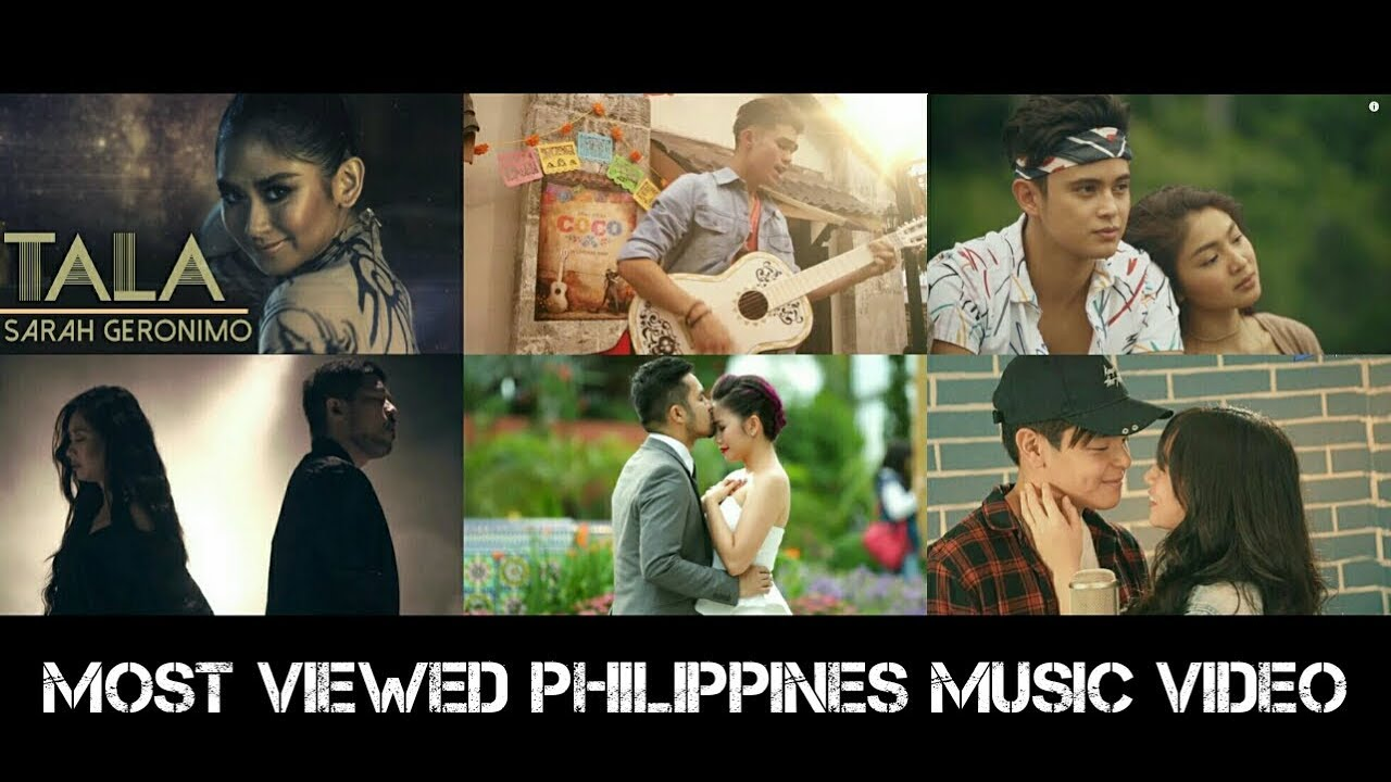 Top 30 Most Viewed Pinoy Lyric Music Video Of All Time As Of May 2018