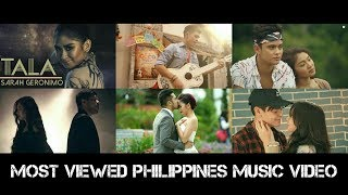 Top 30 Most Viewed Pinoy Lyric / Music Video Of All Time (As of May 2018)
