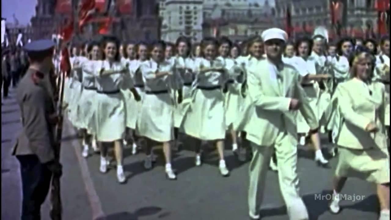 Москва майская» [Парад физкультурников 12 августа 1945 года ...