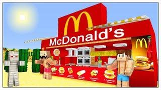 APRIAMO IL NOSTRO MCDONALD'S NEL DESERTO! - Minecraft ITA