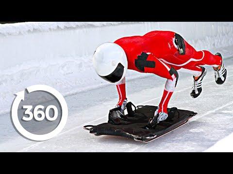 XXII Олимпийские игры в Сочи.Скелетон.Мужчины.4-ая попытка.
