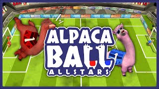 2v2 high octane Alpaca Ball gameplay! Which team will prevail?