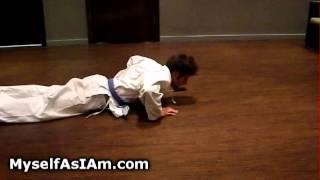 Karate workout 2